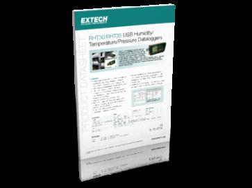 RHT30/RHT35 USB Humidity/ Temperature/Pressure Dataloggers
