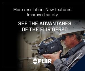 FLIR GF620 banner