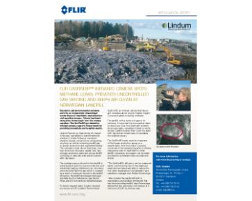 FLIR GasFindIR Spots Methane Leaks and Keeps Air Clean at Norwegian Landfill