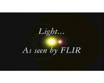 Light as seen by FLIR Movie