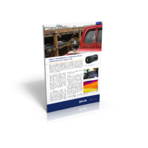 Mobile thermographic monitoring of belt conveyors helps avoid fires