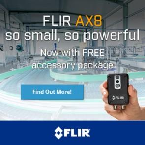FLIR AX8 Q2 2015 promotion banners