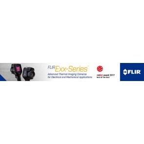 FLIR Exx Red Dot award - banner