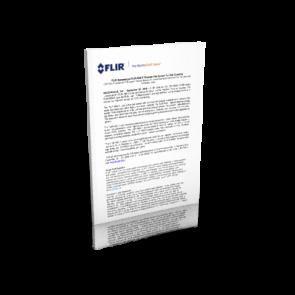 FLIR RSX-F Press Release