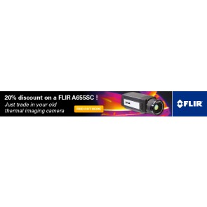 R&D Trade-in for FLIR A655sc - Promotional banner