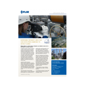 Bayernoil Refinery Uses FLIR Gas Detection Cameras to Detect Leaks
