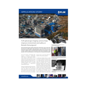 FLIR OGI Camera Helps Improve Envirnment and Safety at Petrochemical Plant