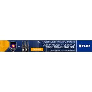 FLIR E6/E8 promo banner - Q2 2017
