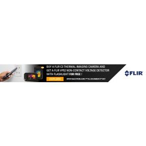 FLIR C3 - VP52  promo banner - Q4 2017