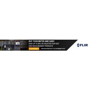 FLIR T&M promo banner - Q4 2017