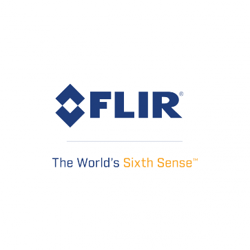 FLIR Logo with tagline
