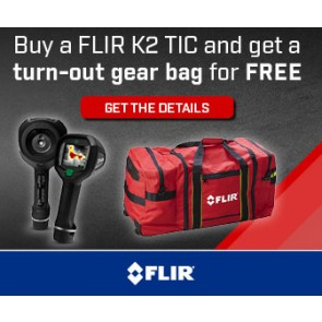 FLIR Turn-out bag promotion - banners
