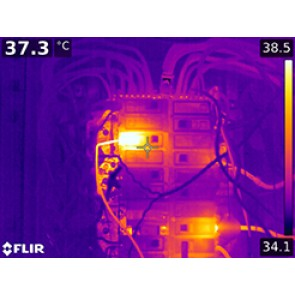 FLIR T1k / T1020 Launch Thermography Images