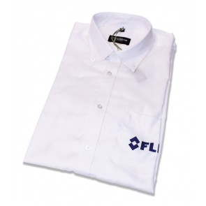 FLIR button shirt