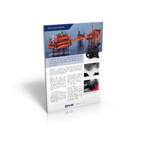 Inspectahire relies on the FLIR GFx320 Optical Gas Imaging camera for maintenance inspections and hydrocarbon leak detection in the offshore oil and gas industry