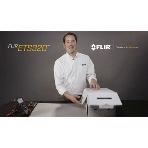 FLIR ETS320 - Unboxing for the customer - Movie