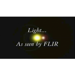 Light as seen by FLIR Movie